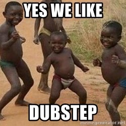 african children dancing - YES WE LIKE DUBSTEP
