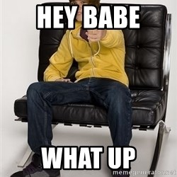Justin Bieber Pointing - hey babe  what up
