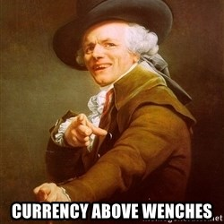 Joseph Ducreux -  Currency above wenches