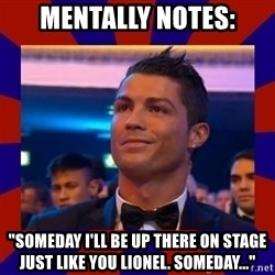 """CR177 - Mentally notes: """"someday I'll be up there on stage just like you lionel. Someday..."""""""