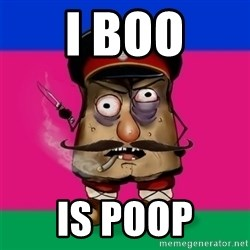 malorushka-kuban - I BOO IS POOP