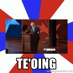 Invisible Obama -  Te'oing