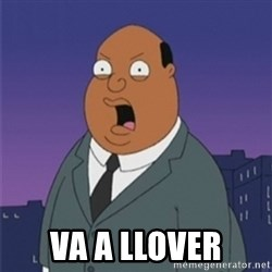 ollie williams -  VA A LLOVER