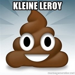 Facebook :poop: emoticon - KLEINE LEROY