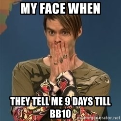 SNL Stefon - My Face When They tell me 9 days till bb10