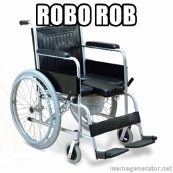 wheelchair watchout - ROBO ROB