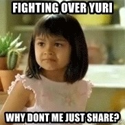 old el paso girl - Fighting over yuri why dont me just share?