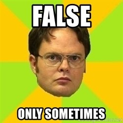 Courage Dwight - False Only sometimes