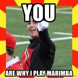 lovett - you are why i play marimba