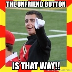 lovett - the unfriend button is that way!!