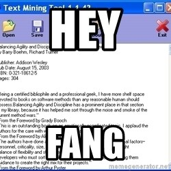 Text - hey fang