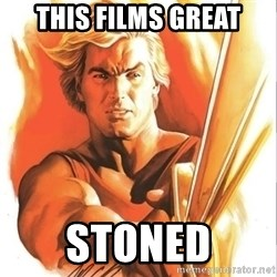 Flash Gordon - this films great stoned