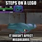MISDREAVUS - Steps on a Lego It doesn't affect misdreavus