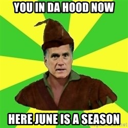RomneyHood - YOU IN DA HOOD NOW HERE JUNE IS A SEASON