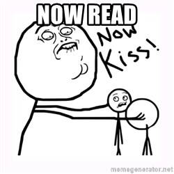 NOW KISS - Now read