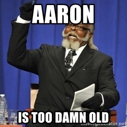 Rent Is Too Damn High - aaron is too damn old