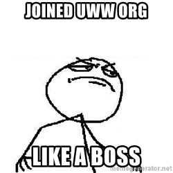 Fuck Yeah - Joined UWW org like a boss