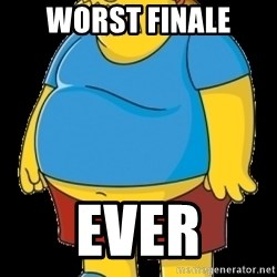 comic book guy - worst finale ever