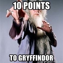 Bitchin Dumbledore - 10 Points to gryffindor