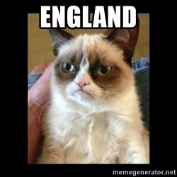 Frowning Cat - England