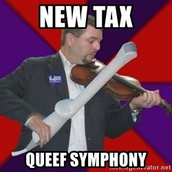 FiddlingRapert - New Tax qUEEF Symphony
