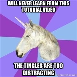 ASMR Unicorn - will never learn from this tutorial video the tingles are too distracting