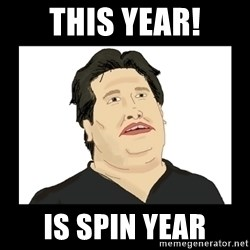 Mod Mark - THIS YEAR! IS SPIN YEAR
