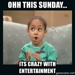 Raven Symone - OHH THIS SUNDAY... ITS CRAZY WITH ENTERTAINMENT