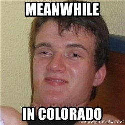 Really Stoned Guy - MEANWHILE IN COLORADO