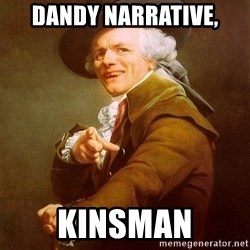 Joseph Ducreux - Dandy Narrative, kinsman