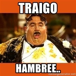 Fat Guy - TRAIGO HAMBREE..