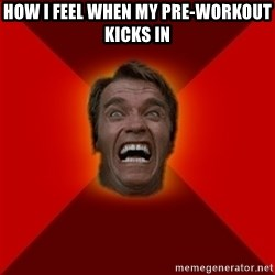 Angry Arnold - HOW I FEEL WHEN MY PRE-WORKOUT KICKS IN