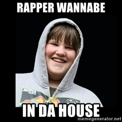 Samin makro - RAPPER WANNABE  IN DA HOUSE
