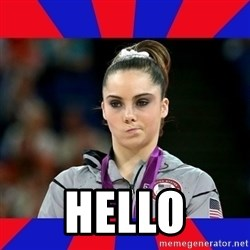 Mckayla Maroney Does Not Approve -  hello