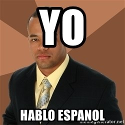 Successful Black Man - yo hablo espanol