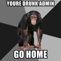 Drunken Monkey - Youre drunk admin Go home