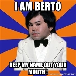 Tattoo fantasy island - i AM BERTO Keep my name out your MOuth !