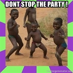 african kids dancing - DONT STOP THE PARTY !