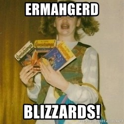 Original Ermahgerd - ERMAHGERD BLIZZARDS!