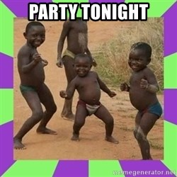 african kids dancing - PARTY TONIGHT