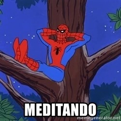 Spiderman Tree -  meditando