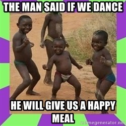 african kids dancing - THE MAN SAID IF WE DANCE  HE WILL GIVE US A HAPPY MEAL
