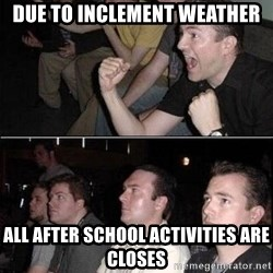 Reaction Guys - Due to inclement weather All after school activities are closes