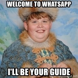 welcome to the internet i'll be your guide - welcome to whatsapp i'll be your guide