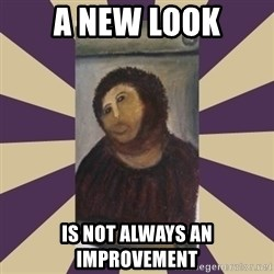 Retouched Ecce Homo - A new look is not always an improvement