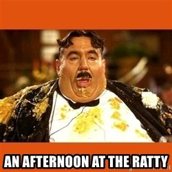 Fat Guy -  an afternoon at the ratty