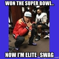 PAY FLACCO - WON THE SUPER BOWL.. NOW I'M ELITE   SWAG