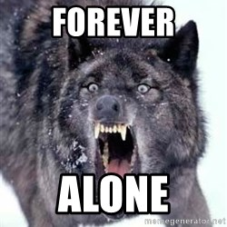 Angry Ass Wolf - Forever alone