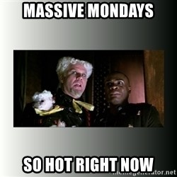 So hot right now - Massive Mondays So Hot Right Now
