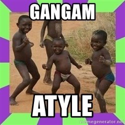 african kids dancing - GANGAM ATYLE